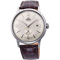 Orient Mens Analogue Automatic Watch with Leather Strap RA-AP0003S10B