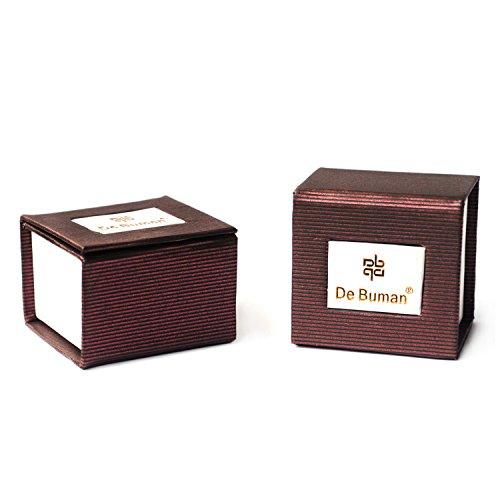 De Buman Sterling Silver Letter D Charm Bead-fits Charm Bracelets