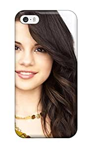 Durable Selena Gomez Long Hair Brunette Celebritys People Women Back Case/cover For Iphone 5/5s