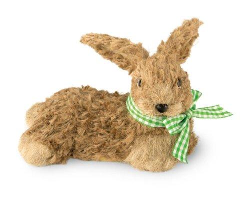 Boston International Decorative Lying Bunny, Brown