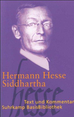 Siddhartha: Eine indische Dichtung (Suhrkamp BasisBibliothek)