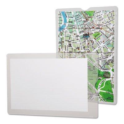 Esselte Utili Jac Vinyl - Utili-Jacs Heavy-Duty Clear Plastic Envelopes, 5 x 8, 50/Box, Sold as 1 Box, 50 Each per Box