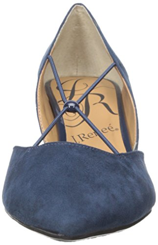 Lauren Ralph Lauren Rafita Womens Size 7.5 Blue Suede Pumps
