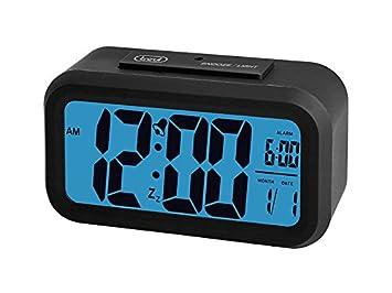 Trevi SLD3068 Digital Bedside 12/ 24 Hour Alarm Clock with Large ...