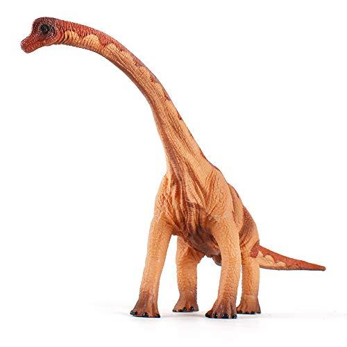 (Fantarea Educational Dinosaur Toys - Kids Realistic Toy Dinosaur Figures for Cool Kids and Toddler Education (Brachiosaurus-Yellow))