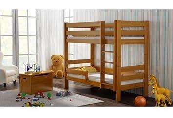 Etagenbett Abc Betten : Amazon etagenbett sophie mit zwei kiefer holz bett