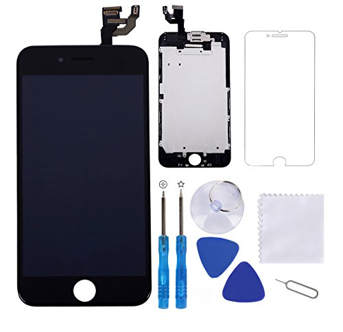 Screen Replacement for iPhone 6 Plus Black 5.5