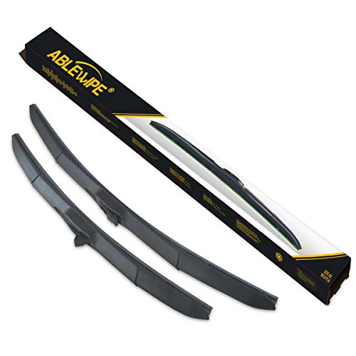 "Price comparison product image ABLEWIPE Hybrid Wiper 18"" + 18"" Windshield Wiper Blade With Smart-Flex Technology(Set of 2)"