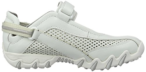 Damen White Mephisto by Nimbo White Fitnessschuhe Allrounder Weiß Outdoor a0wtvnq