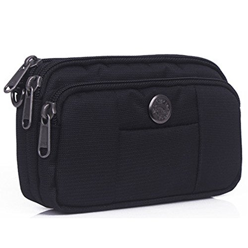 liangdongshop Water Resistant Oxford Waist Pack Shoulder Cellphone Pouch Bum Bag (Bum Bum Trousers)