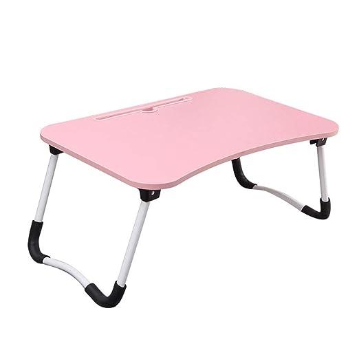 MYAOUSIDE TABLE Mesa de Escritorio para Ordenador portátil y ...