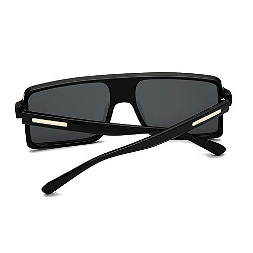 brillants designer soleil lentille plage C5 les la UV pour femmes voyage air surdimensionnées C1 colorée nouveauté forme en carré protection lunettes Couleur Grand de plein hommes nuances été S85qwc8a