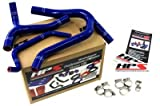HPS (57-1244-BLUE) Silicone Radiator Hose Kit for Kawasaki KX450F