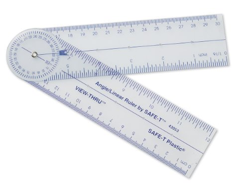 Learning Resources 43054 Angle Ruler, 12-Inch/30-Cm