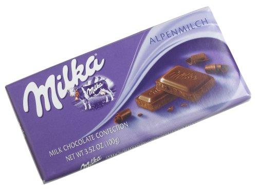 - Milka Alpine Milk Chocolate, 3.5-Ounce Bars (Pack of 10)