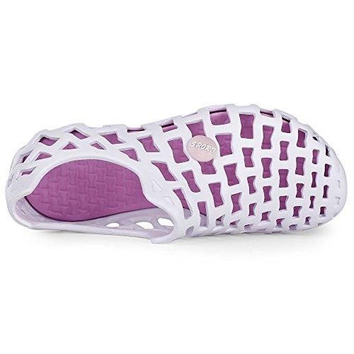 Piscine Sabots Jardinage Rosegal de de de Pantoufle Unisexe Plage Sandale été été Blanc Chaussure HwdFqwC7