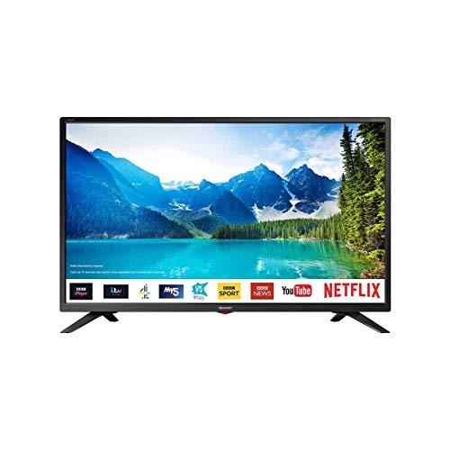 Sharp 32″ Smart TV HD Ready with Freeveiw HD Play, USB, PVR + Netflix