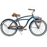 26'' Huffy Cape Cod Men's Cruiser Bike, Metallic Blue