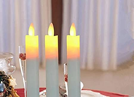 GOYAL� Flamelese LED Electronic Candle with Stand Especially for Birthday/Festival / Anniversary