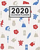 Hawaii Calendar Planner 2020: Hawaii 2020 Daily, Weekly a Monthly Calendar Planner   January to December   110 Pages (8x10)