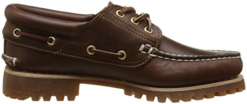 Classic Eye Timberland Uomo Mocassini Marrone 3 Authentics wRqqg4