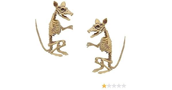 """7/"""" Hard Plastic Standing Rat Halloween Prop Decoration"""