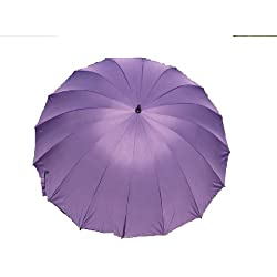 Plum Purple CLEARANCE 16 Panel Wedding Umbrella Factory 2nd