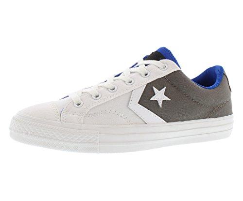 Converse Star Plyr Ox Schoenen Maat Wit / Houtskool