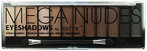 Technic Mega Nudes 12 Colour Eyeshadow Palette