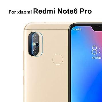 GerTong Protector de Lente de Cámara para Xiaomi Redmi Note 6 Pro ...