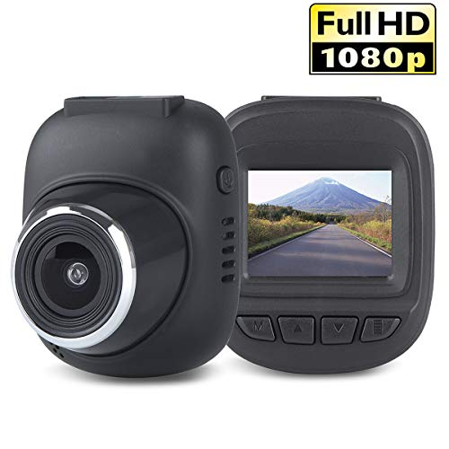 Vehicle Dash Cam, FULiYEAR Mini Hide 1.5 Screen Full HD 1080P Car Camcorder 165 Degree Wide Angle, Car DVR Dashboard Camera with G-Sensor, Loop Recording, Video & Audio