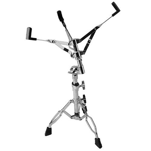 Stagg LSD-25.2 Double Braced Snare Stand with Oval Fixing Clamps - Chrome