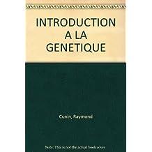 Introduction à l'analyse génétique