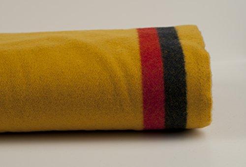 - 3-Band Broadcloth - 1 yard - Yellow