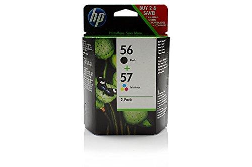 HP PSC 2175 -Original HP SA342AE / Nr 56 & Nr 57 - Promo Pack Ink Cartridge - (57 Printer Hp Color Cartridge)