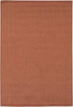 Saddle Stitch Staple (Couristan 1001/4000 Recife Saddle Stitch/Terra-Cotta-Natural 7-Feet 6-Inch by 10-Feet 9-Inch Rug)