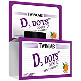 Twinlab D Dots Tangerine — 2000 IU – 100 Tablets Review