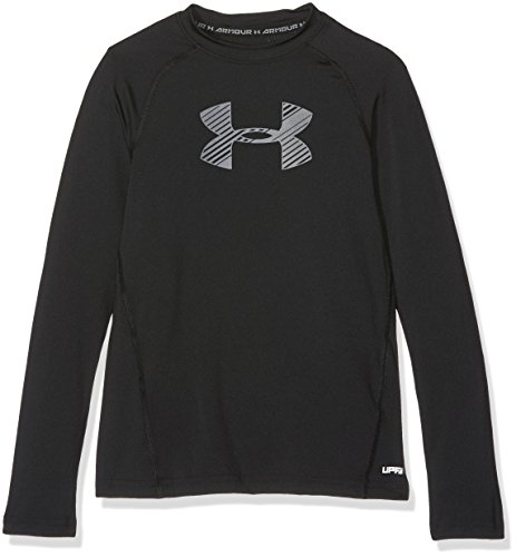 Under Armour Boys' HeatGear Armour Long Sleeve Shirt