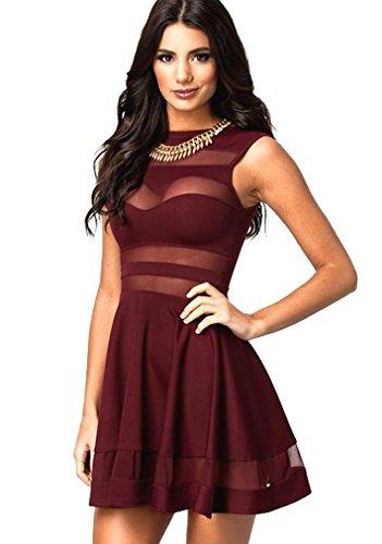 Sexy Frau im Kleid