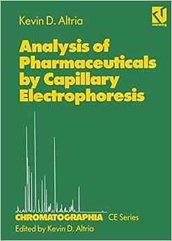 Descargar Libro Electronico Analysis Of Pharmaceuticals By Capillary Electrophoresis Archivo PDF A PDF