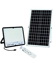 300W LED Solar spot Lights,30000Lumens Street Flood Light Outdoor IP67 Waterproof with Remote Control Security Lighting for Yard, Garden, Gutter, Swimming pool, Pathway, Basketball Court, Arena