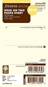 Amazon.com: FiloFax 68413 - Recambio para planificador de ...