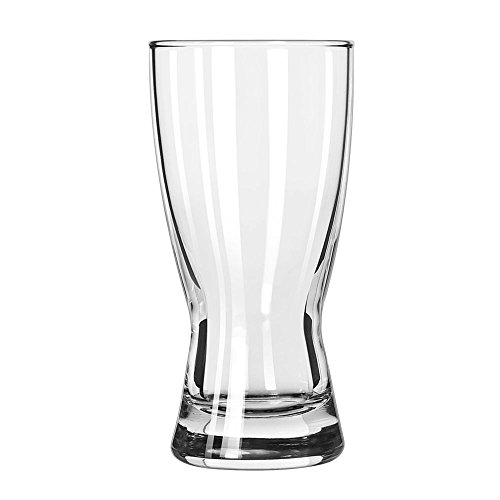 Heat Treated Hourglass Pilsner - Libbey 1178HT Hourglass Pilsners 10 Ounce Pilsner Glass - 24 / CS