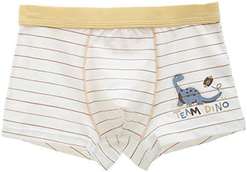 WAIWAIZUI Boys Boxer Shorts Cotton Briefs Dinosaur Pattern