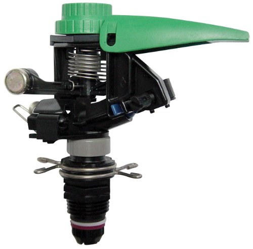 Low Pressure Sprinkler (Rain Bird P5R Plastic Impact Sprinkler, Adjustable 0° - 360° Pattern, 25' - 41' Spray Distance)