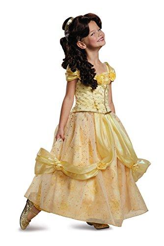 Belle Ultra Prestige Disney Princess Beauty & The Beast Costume, X-Small/3T-4T ()