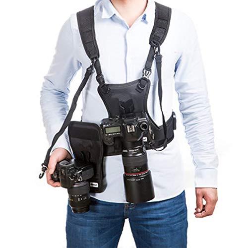 Chaleco para cámara réflex con Sistema de arnés para el Pecho ...