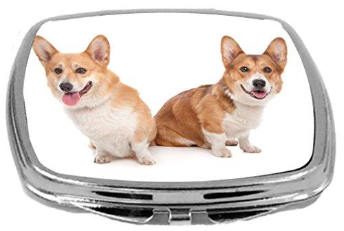 Rikki Knight Compact Mirror, Pembroke Welsh Corgi Dog