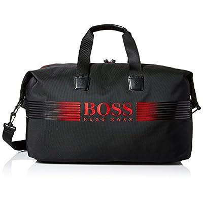 e95a02de76da durable service BOSS Green Men s Pixel Nylon Holdall Weekender Bag ...