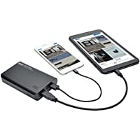 TRIPP LITE Portable 10,000mAh Mobile Power Bank USB Battery Charger, Dual Port (UPB-10K0-2U)